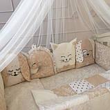 Детский постельный комплект Маленькая Соня Chudiki Classic 6 и 7 элементов, фото 3