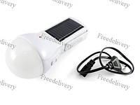 Лампа фонарь для палатки кемпинга 5Вт солнечная панель батарея + 220В