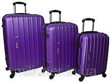 Чемодан ручная кладь Siker Line (мини) фиолетовый, фото 3