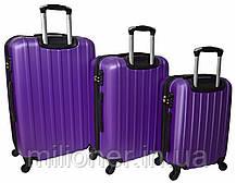 Чемодан ручная кладь Siker Line (мини) фиолетовый, фото 2