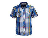 Летняя рубашка для мальчика; 146 размер