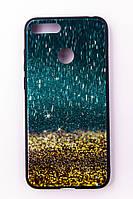 """Чехол-панель Dengos (Back Cover) """"Glam"""" для Huawei Y6 Prime 2018, золотой песок"""
