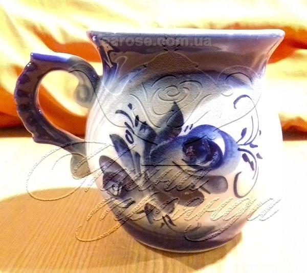 "Чашка ""Синя троянда"" 400 мл"
