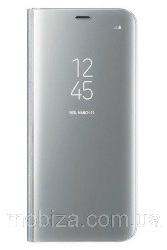 Чохол DENGOS (flipp-BOOKClear View Standing Cover) для Huawei P20 (silver)