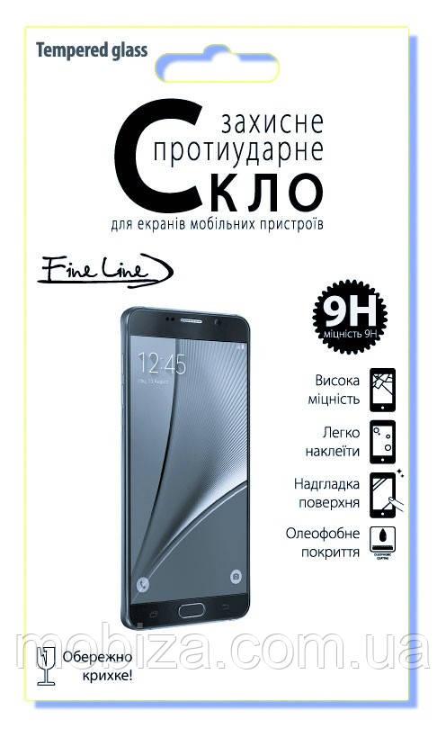 Захисне скло FINE LINE (Tempered Glass Full Glue 5D) для Samsung Galaxy А9 2018 (А920) (black)