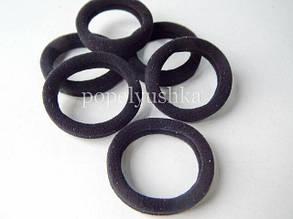 Резинки тонкие 3,5см черные (10шт)