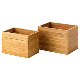 IKEA DRAGAN (402.226.07) Набір для ванної кімнати, 4 шт., Бамбук