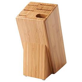 IKEA HYVLA (302.938.98) Підставка для ножів, бамбук