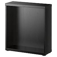 Корпус IKEA BESTA Корпус 60x20h64, черно-коричневый (202.459.59)