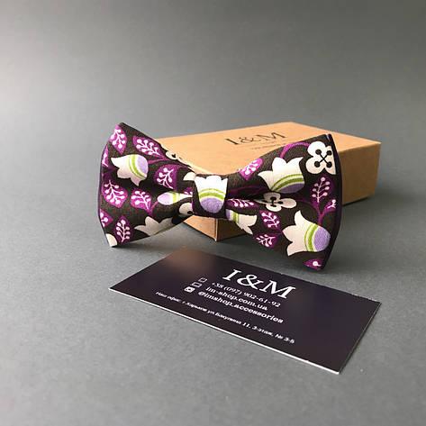Галстук-бабочка I&M Craft Flowers (00041), фото 2
