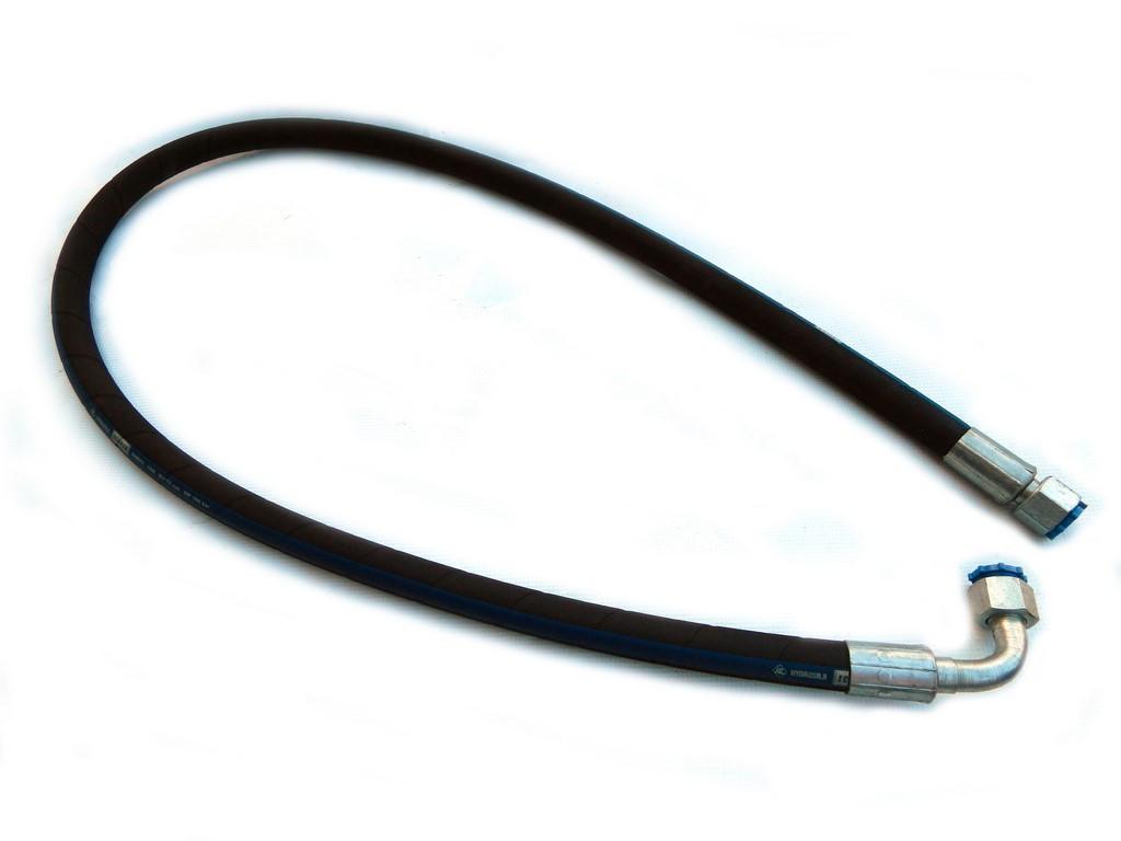 Рукав высокого давления L=0,4м под ключ 24 гнутый фитинг