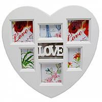 Фоторамка  Love на 6 фото, фото 1