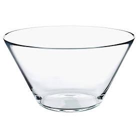 IKEA TRYGG (201.324.53) Миска, прозрачное стекло
