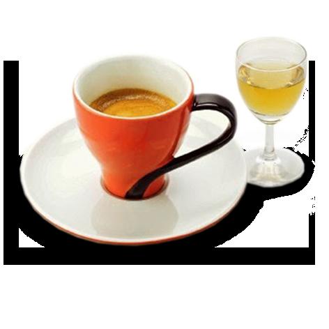 виды кофе - коррето, кофе с лакоголем
