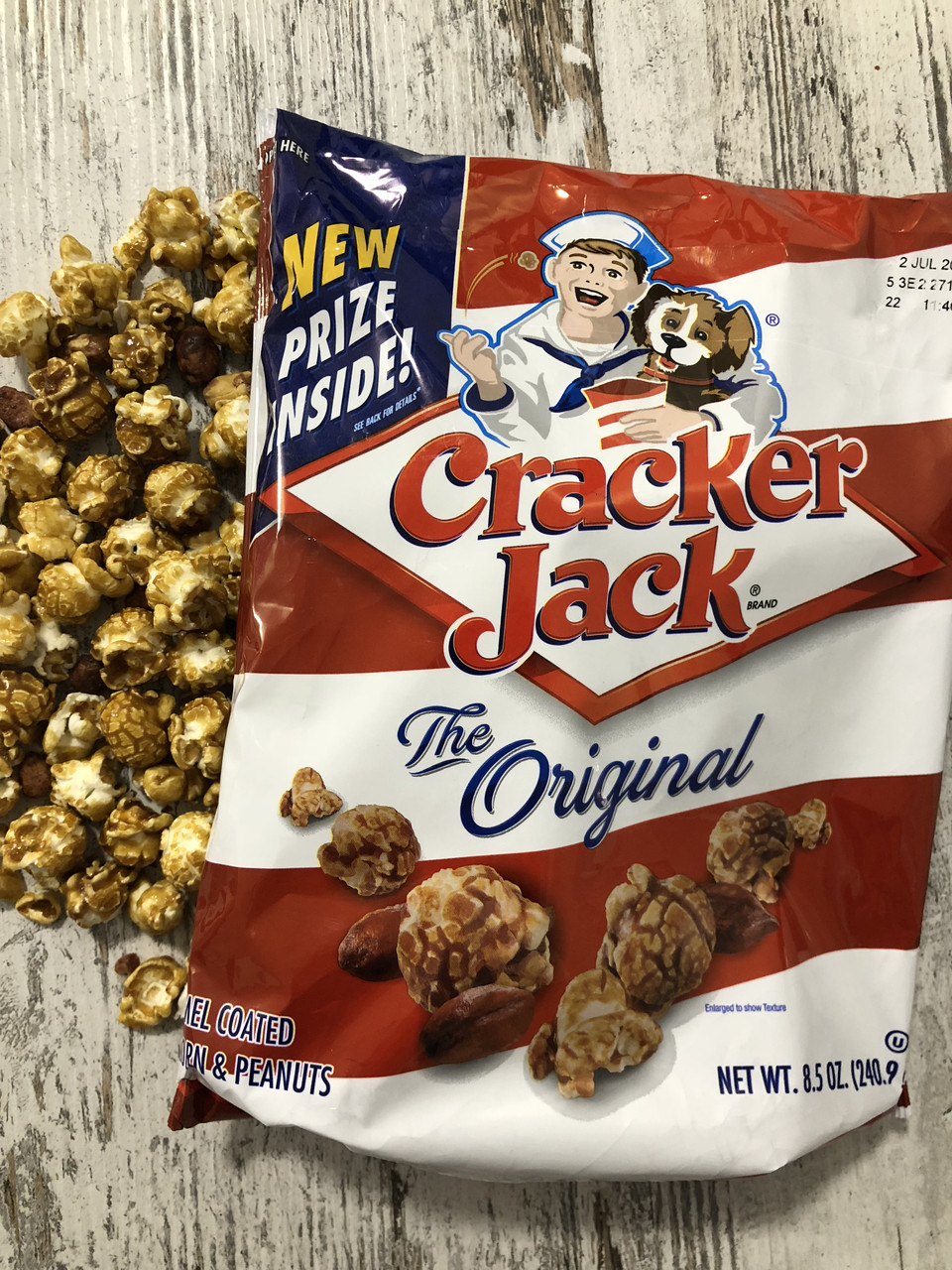 Поп-корн и арахис под карамелью Cracker Jack Original