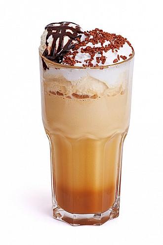 кофе по-гречески, холодный кофе