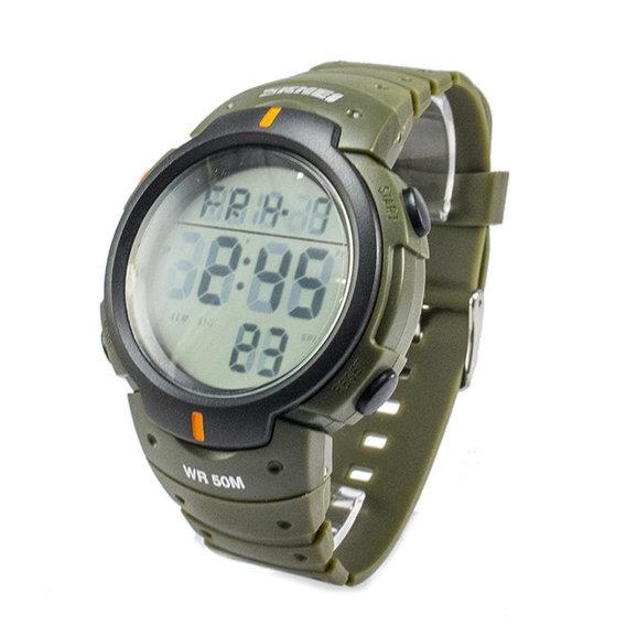 Мужские наручные часы Skmei 1068 Army-Green