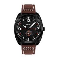 Мужские наручные часы Skmei 9155 Brown-Black-White