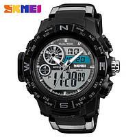 Мужские наручные часы Skmei 1332 Black-Gray
