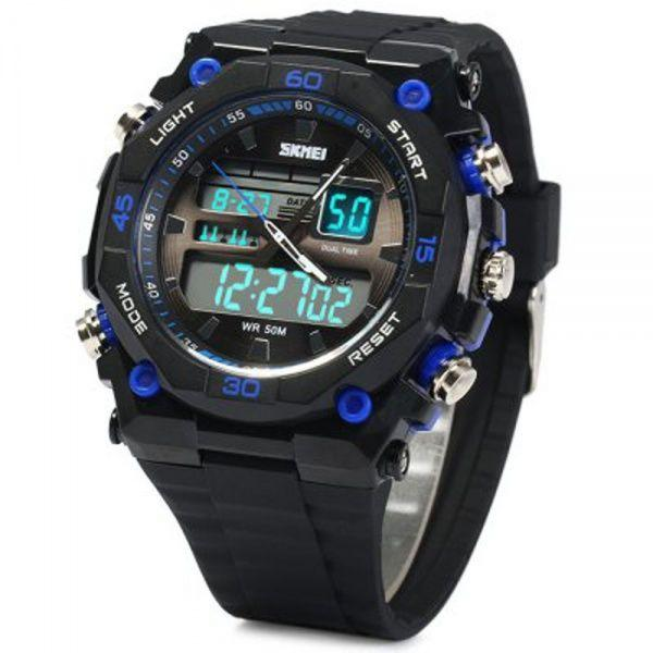 Мужские наручные часы Skmei 1283 Black-Blue