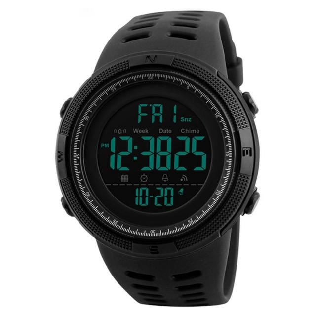 Мужские наручные часы Skmei 1251 All Black