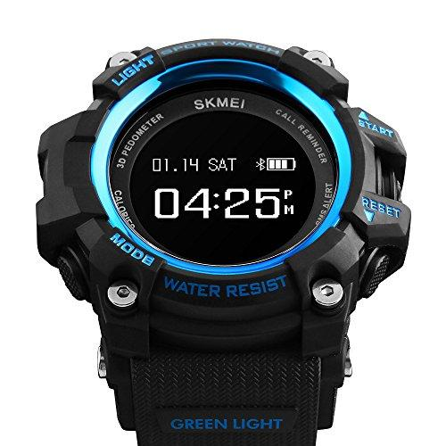 Мужские наручные часы Skmei 1188 Black-Blue