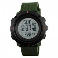 Мужские наручные часы Skmei 1213 Black-Military