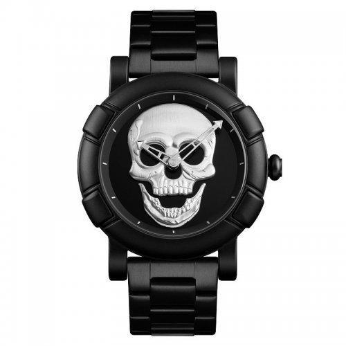 Мужские наручные часы Skmei 9178 Black-Silver
