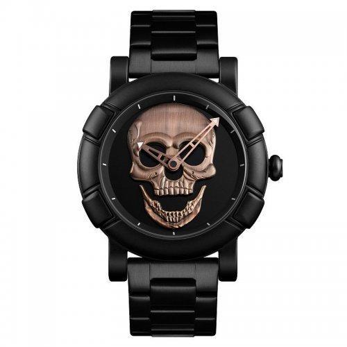 Мужские наручные часы Skmei 9178 Black-Cuprum