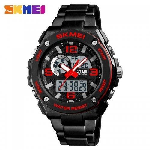Мужские наручные часы Skmei 1333 Black-Red