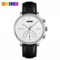 Мужские наручные часы Skmei 1399 Black-Silver-White