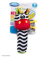 Игрушка-пищалка Зебра ,PlayGro,0183439