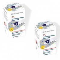 Акция! Тест-полоски Bionime Rightest GS300, 25 + 25 шт.
