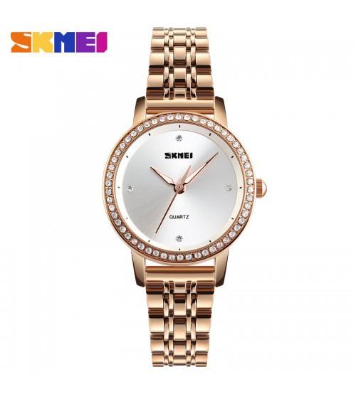 Женские научные часы Skmei 1311 Cuprum-Silver