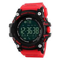 Мужские наручные часы Skmei 1227 Black-Red Wristband