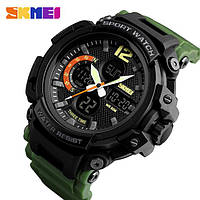 Мужские наручные часы Skmei 1343 Black-Militari Wristband
