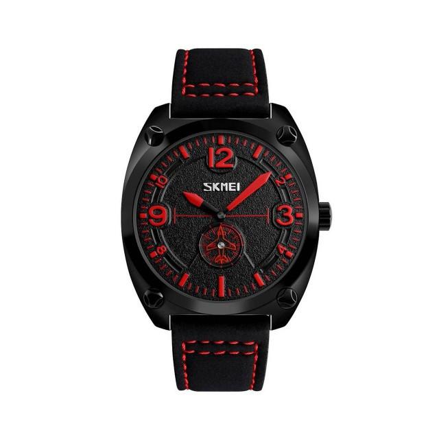 Мужские наручные часы Skmei 9155 Black-Red