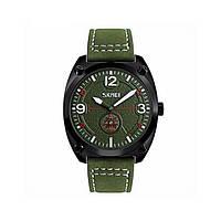 Мужские наручные часы Skmei 9155 Green-Black