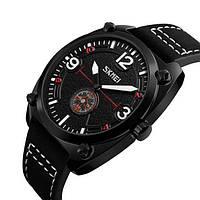 Мужские наручные часы Skmei 9155 All Black-White