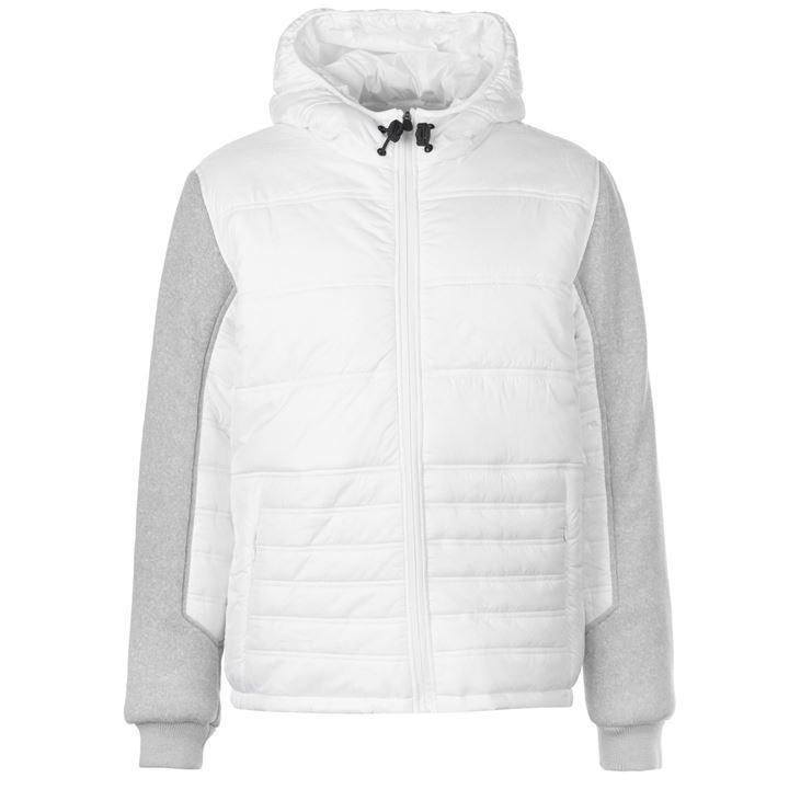 Куртка Everlast Knit Sleeve Jacket Mens