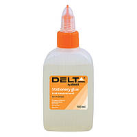 Клей канцелярский ( силикатный ) Delta, 100мл
