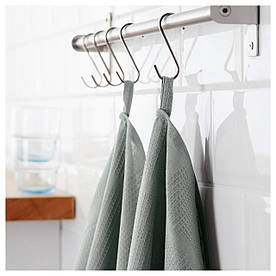 IKEA IRIS (202.100.21) Рушник кухонне, сірий