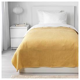 IKEA VARELD (903.464.41) Покрывало, желтый