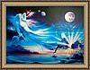 Картина в багетной раме Парад планет 300х400 мм №504