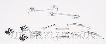 Комплект пружинок колодок ручника Fiat Ducato 02- QUICK BRAKE QB105-0851