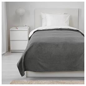 IKEA TRATTVIVA (303.496.78) Покривало, сірий