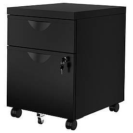 IKEA ERIK (603.410.01) Комод - 2 висувних ящика, чорний