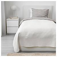 IKEA VARELD (003.840.17) Покрывало, белое