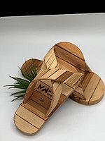 Деревянные тапочка для бани