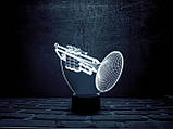 """Детский ночник - светильник """"Труба"""" 3DTOYSLAMP, фото 2"""